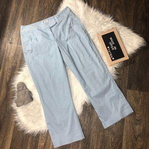 Nike Golf Light Blue Athletic Capri Pants Size XS
